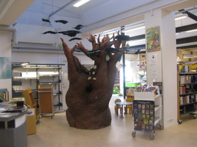 Tree in Children's Section