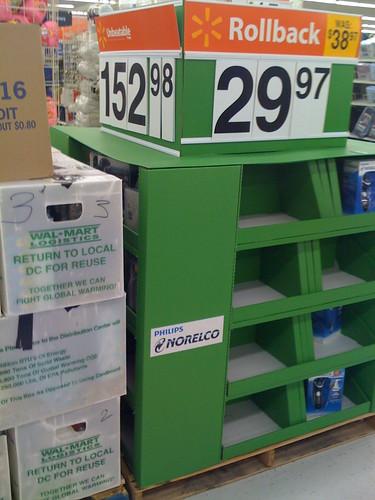 Walmart pre-Christmas