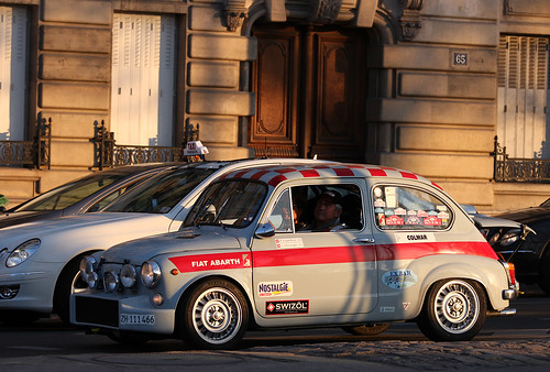Fiat Abarth 1000 TC by Martin  Vincent.