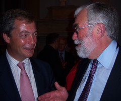 Nigel Farage MEP and Michael McGough