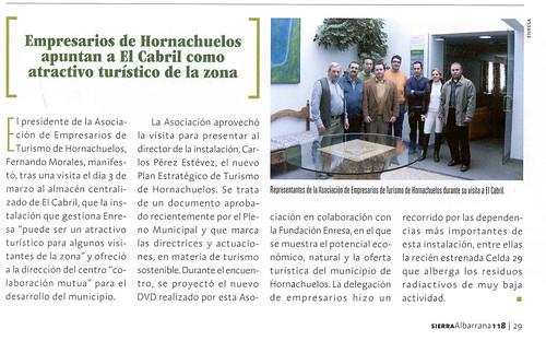 Posibilidades Turísticas del Cementerio de Residuos de Enresa.