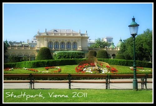 Stadtpark postcard
