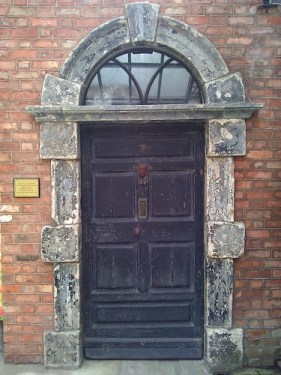 Leopold Bloom's front door