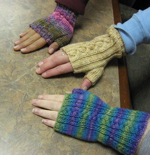 Fingerless Gloves Gifted