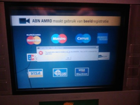Windows ATM Fail