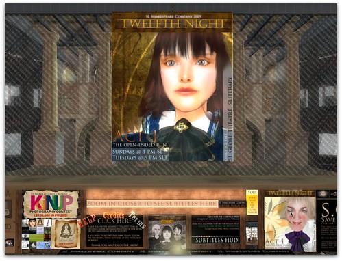 Twelfth Night in SL