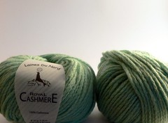 Laines du Nord Royal Cashmere in Spearmint