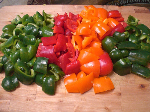 Peppers for Kebobs