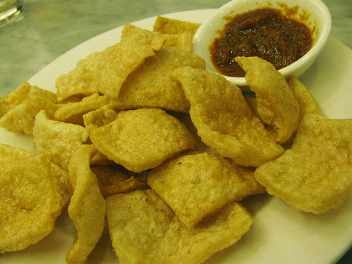 Kropek with Shrimp Paste at Malacca