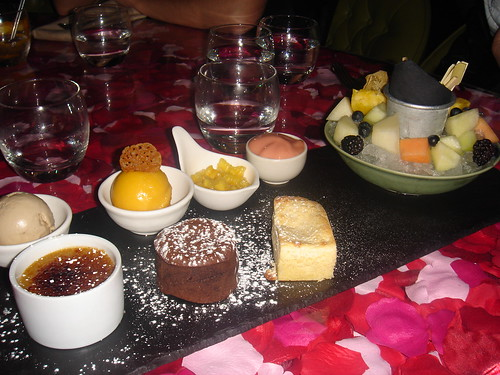 Coccon Chef's dessert selection
