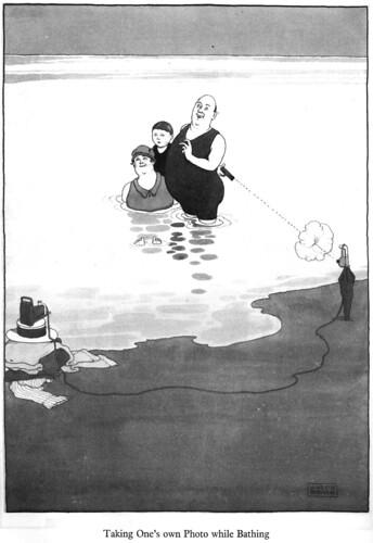 W. Heath Robinson Gag comic