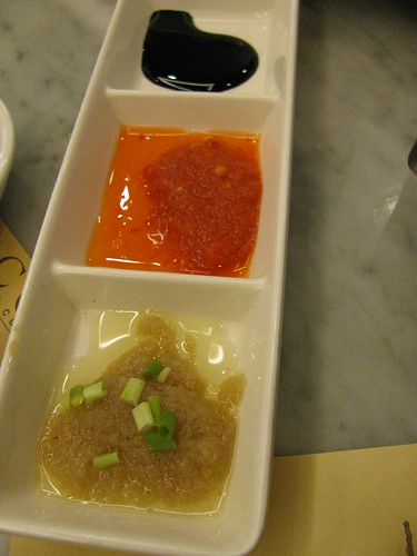Sauce for Hainanese Chicken at Malacca