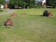 Middlesbrough, Crystallization Sculpture, Albert Park