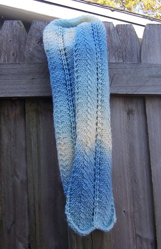 Tapestry Scarf - an extremely fast knit!!  :)