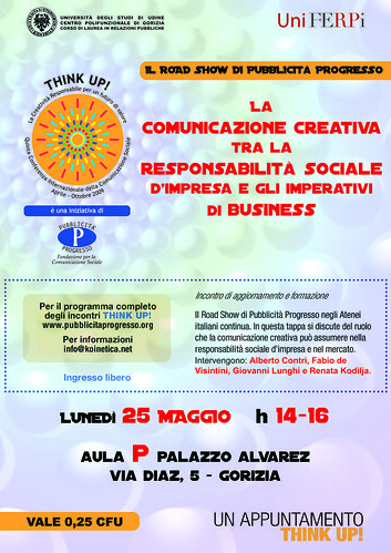 Road Show Pubblicità Progresso Gorizia