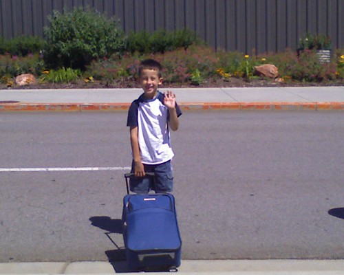 Sai leaving on a jet plane