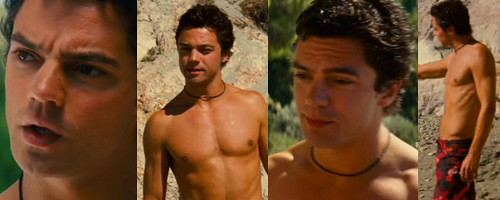 Dominic Cooper Shirtless