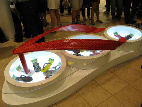 Havaianas Slippers display