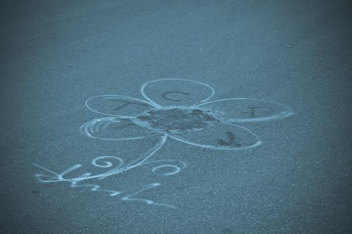 Arte en el asfalto