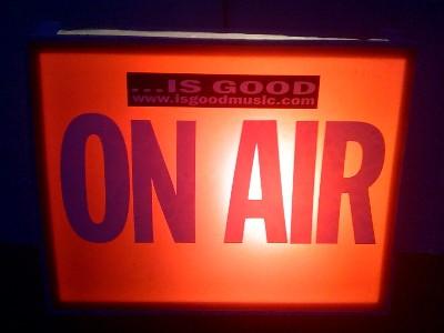 ROBOTANISTS @ IS GOOD RADIO 4.29.09 - ON AIR