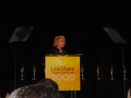 Joan Rivers at the LinkShare Golden Link Awards