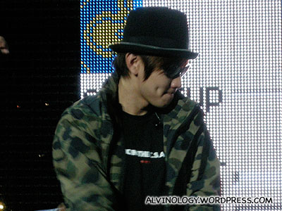 Close-up of JJ Lin