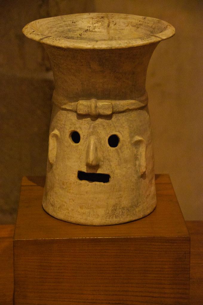 Ancient brazier in Santo Domingo Museum
