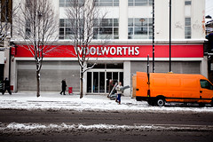 Woolworths is still being removed, piece by piece