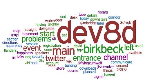 Dev8d Wordie