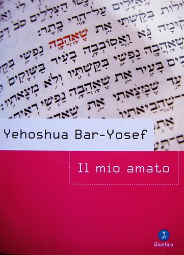 Yehoshua Bar-Yosef, Il mio amato, Giuntina 2009; (i credits dell'immagine e della grafica non sono indicati), copertina (part.), 1