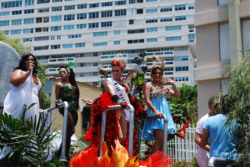Beautiful costumes in the parade
