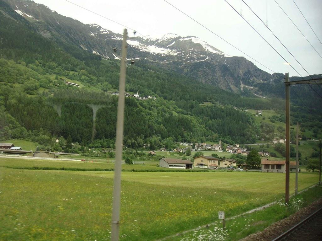 Tren Lugano-Zúrich