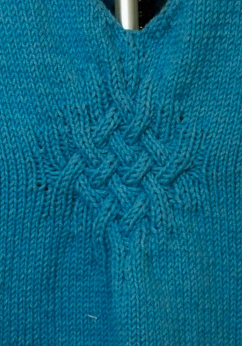 Gathered Pullover detail