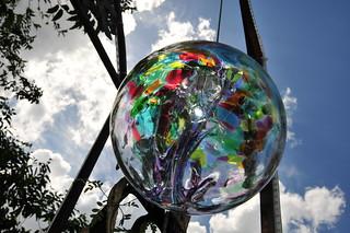 High Tech Glass Ball