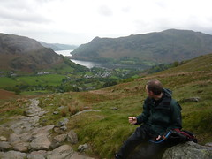 Dan, his brownie and Ullswater