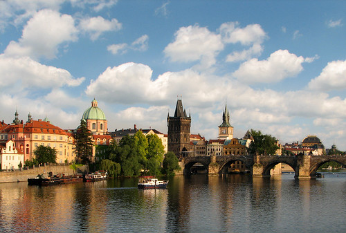 Charles Bridge by you.
