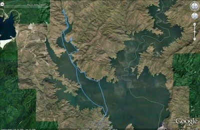 Jocassee Paddle Route