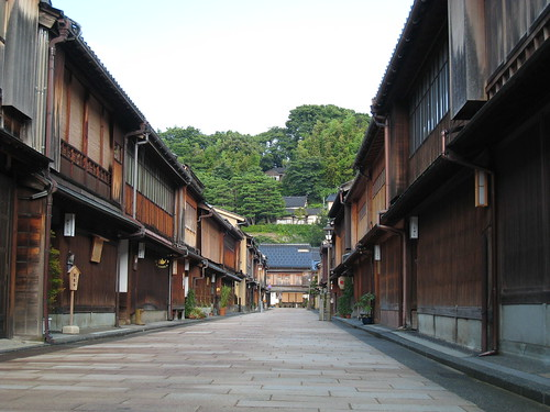 Kanazawa Old Merchant District