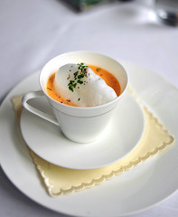 5th Course: Maine Lobster Cappuccino