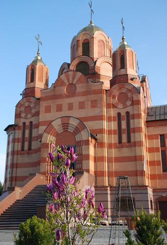 храм  Иверской Божьей Матери, Днепропетровск