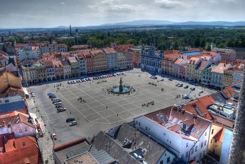 II. Ottokár tér, Ceske Budejovice