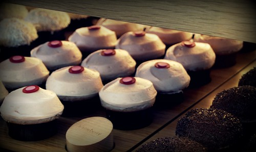 Picking up some Sprinkles cupcakes by you.