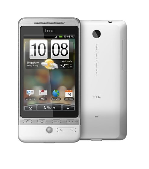HTC Hero - Absolute White 03