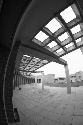 Terraza de la escuela politécnica