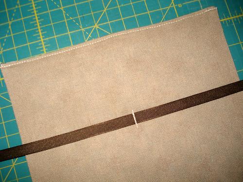 money bag - ribbon