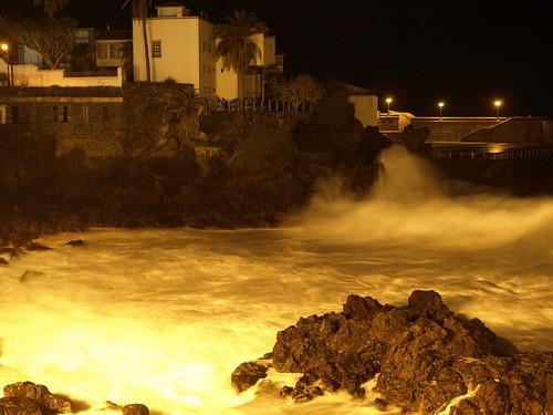 Atlantic rollers at Punto del Viento