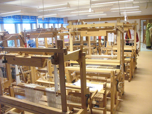 big weaving room