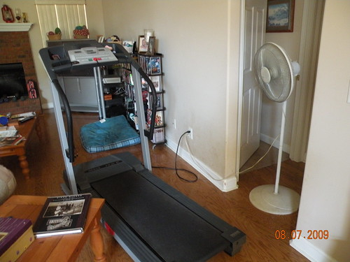 My own, personal gym...