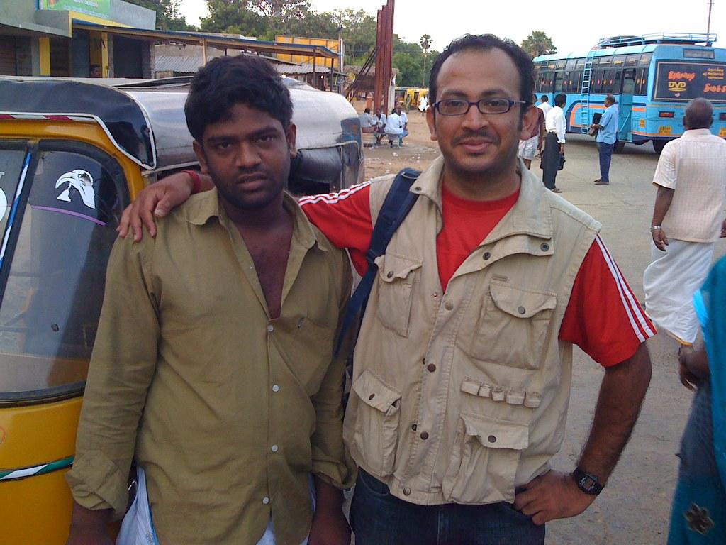 Nagarajan, the autorickshaw guy
