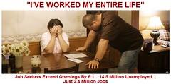 U.S. Job Seekers Exceed Openings by Record Ratio